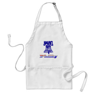 Philly and Liberty Bell Adult Apron