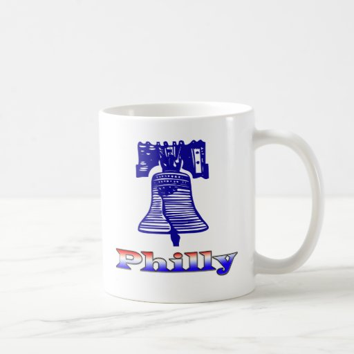 Philly and Liberty Bell Classic White Coffee Mug