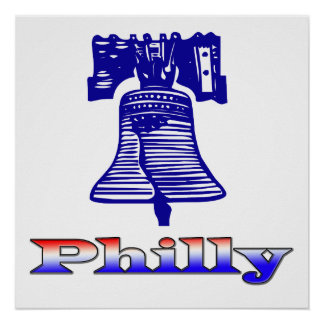 Philly and Liberty Bell Posters