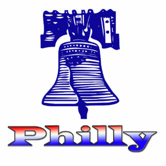 Philly and Liberty Bell Statuette