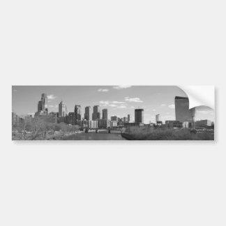 Philly b/w bumper sticker