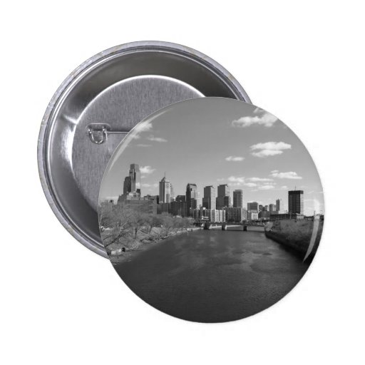 Philly b/w pins