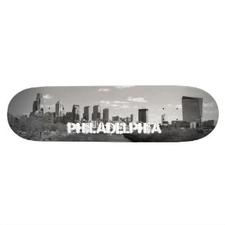 Philly b/w custom skateboard
