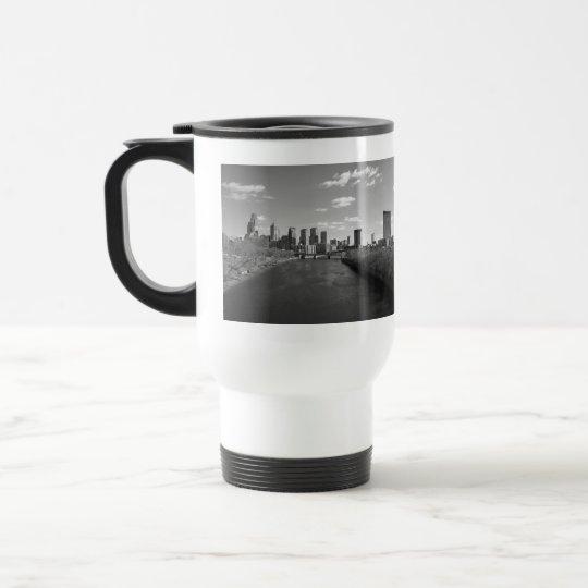 Philly b/w travel mug
