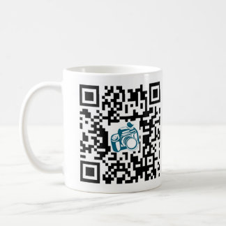 Philly Baby Photography QR Code Mug