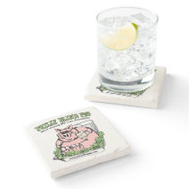 Philly Blind Pig BBQ Stone Coaster