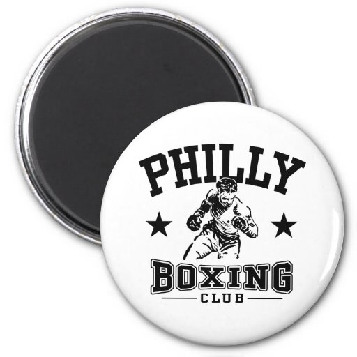 Philly Boxing Fridge Magnets