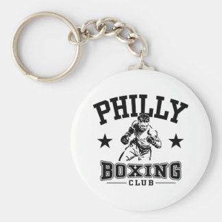 Philly Boxing Keychain