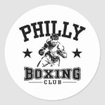 Philly Boxing Stickers
