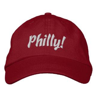 ¡Philly! Casquillo en rojo y blanco Gorra De Béisbol