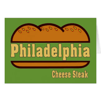 Philly Cheese Steak Card