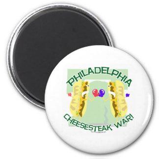 Philly Cheesteak War Magnet