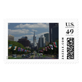 Philly City Hall Stamp