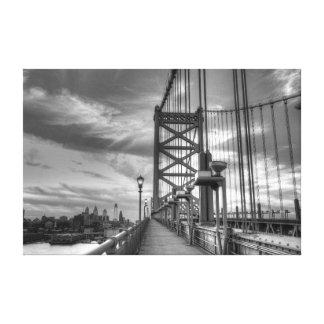 Philly del puente impresiones de lienzo