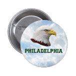 Philly Eagle - botón redondo Pin Redondo De 2 Pulgadas