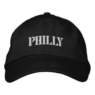 PHILLY EMBROIDERED BASEBALL CAP