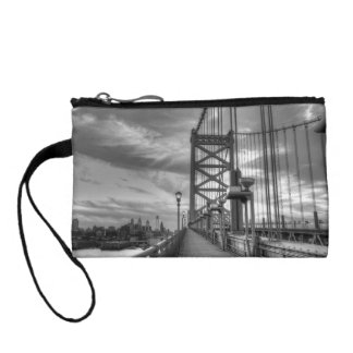 Philly from the bridge change purses