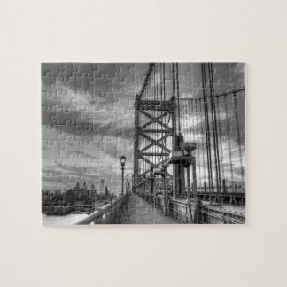 Philly from the bridge jigsaw puzzle