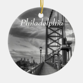 Philly from the bridge ornaments