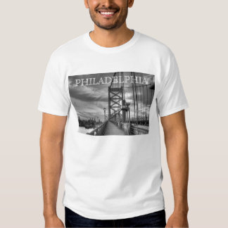 Philly from the bridge t-shirt