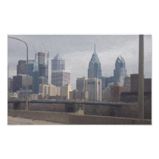 Philly In Oil Photo Print