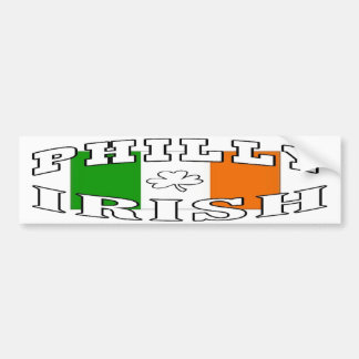 Philly Irish Bumper Sticker