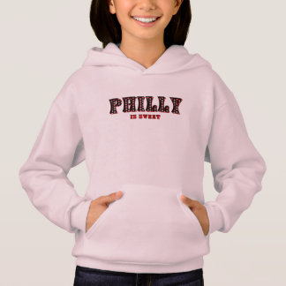 Philly Is Sweet Pink Kid's Hoodie