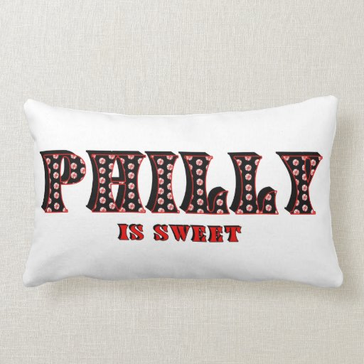 Philly Is Sweet Throw Pillow