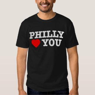 Philly le ama (el negro) polera
