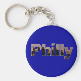 Philly Letters Keychain