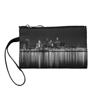 Philly night b/w coin wallets
