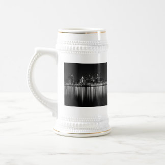 Philly night b/w mugs