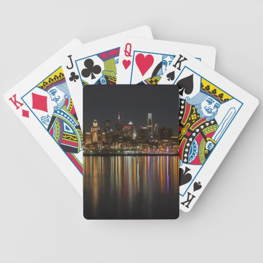 Philly night bicycle playing cards