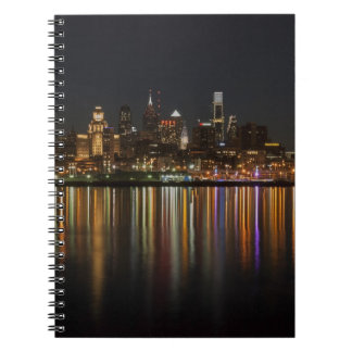 Philly night spiral note book