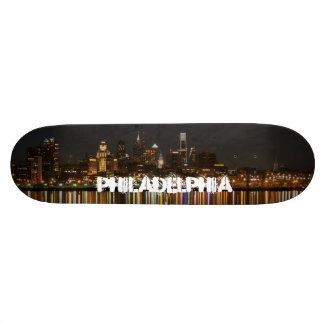 Philly night skateboard