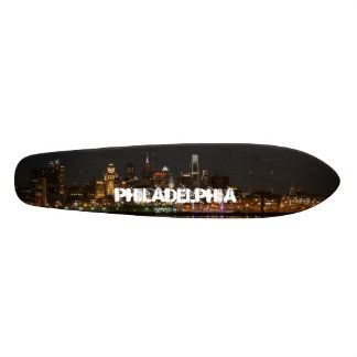 Philly night skate board deck