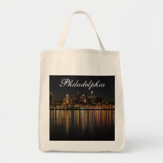 Philly night tote bag