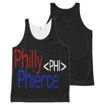 Philly Phierce Unisex All-Over Print Tank Top