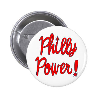 Philly Power! T-shirts, Hoodies, Baseball Tees 2 Inch Round Button