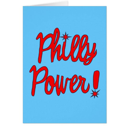 Philly Power! T-shirts, Hoodies, Baseball Tees Card