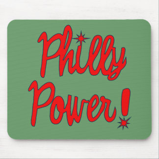 Philly Power! T-shirts, Hoodies, Baseball Tees Mouse Pad