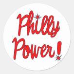 Philly Power! T-shirts, Hoodies, Baseball Tees Sticker