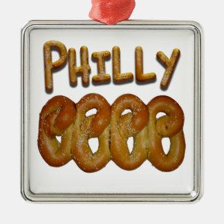 Philly Pretzels Christmas Ornaments