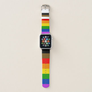 Philly Pride Flag Apple Watch Band