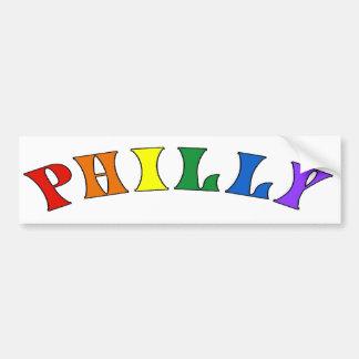 Philly Rainbow Bumper Sticker