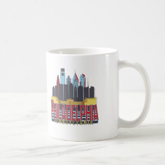 Philly Red & Blue Coffee Mug
