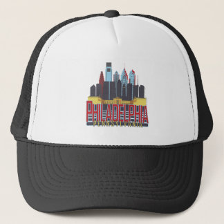 Philly Red & Blue Trucker Hat