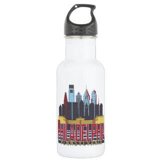 Philly Red & Blue Water Bottle