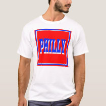 Philly Red Square T-Shirt