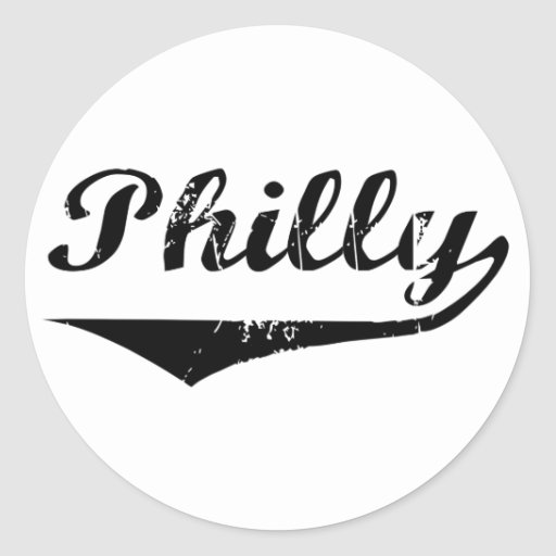 Philly Round Stickers